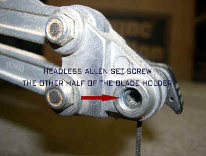 Tune a quick examination of the headless allen set screw the other half of the blade holder revealed that it was backed off too much and was actually below the keyboard keysfo Image collections