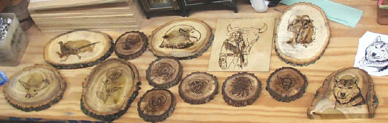 have a try at wood burning. I purchase theDetail Master IV Sarbe wood ...
